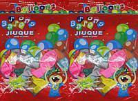 """Воздушные шары 302-3 набор """"Матовые"""", 100шт 30см латекс"""