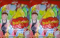 """Воздушные шары 302-1 набор """"Happy Birthday"""", 100шт 30см латекс 9цветов"""