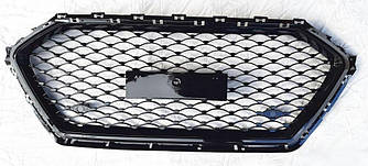 Решетка радиатора Hyundai Elantra AD (2016+) тюнинг стиль Diamond