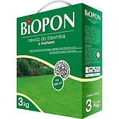 Добриво гранульоване для газонів з мохом 3 кг, BIOPON