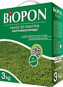 Добриво гранульоване для газонів проти бур'янів 3 кг, BIOPON