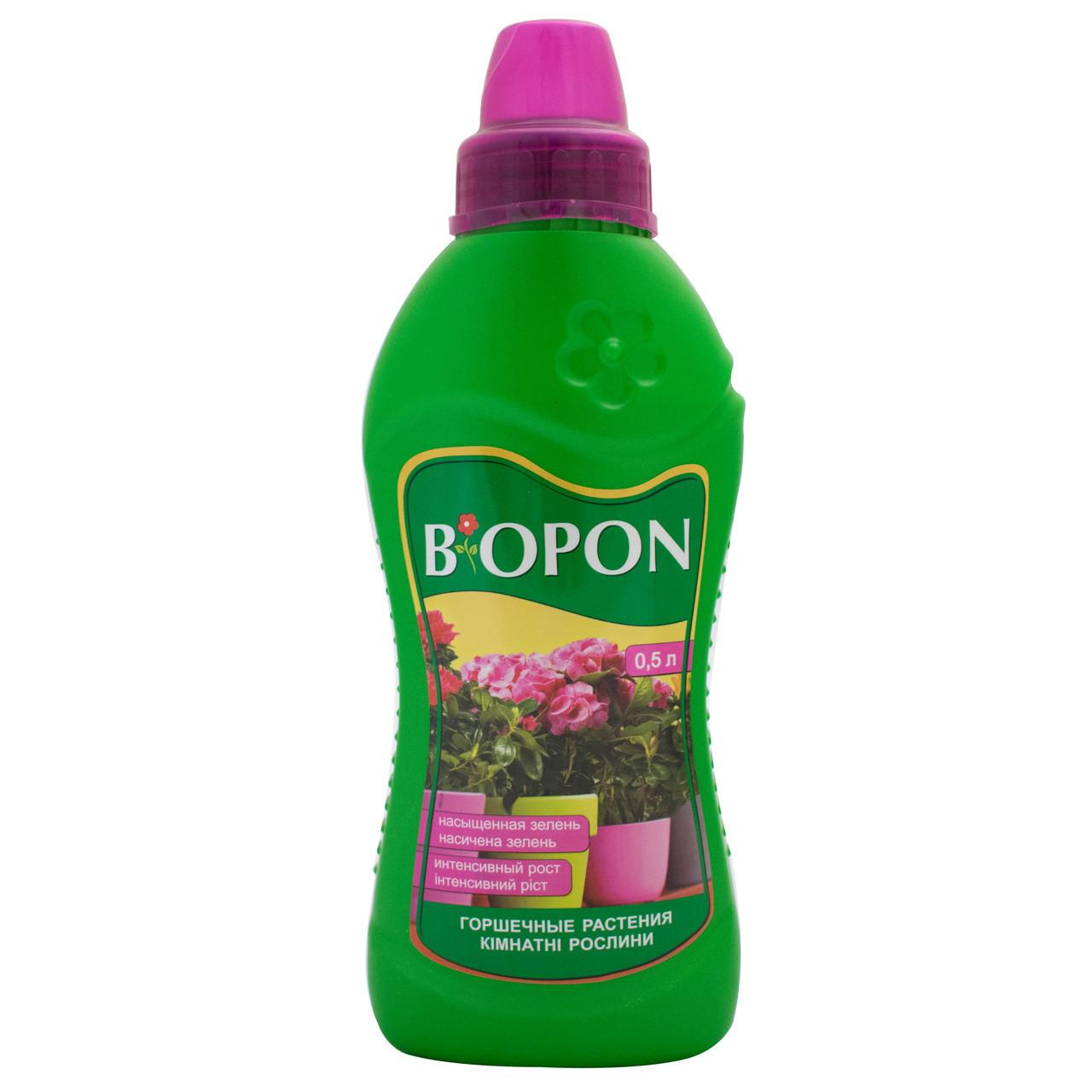 Добриво рідке для кімнатних рослин 0,5 л, Biopon