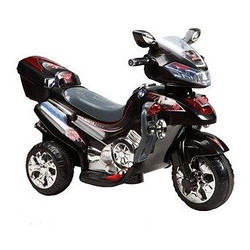 Детский Электромобиль-мотоцикл Bambi F928 Черный (M0562/F928-2)
