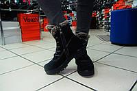 Женские ботинки зима замша, Р. 36