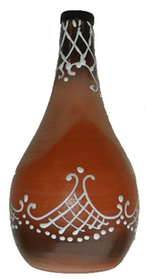 Бутылка глиняная 500  мл.