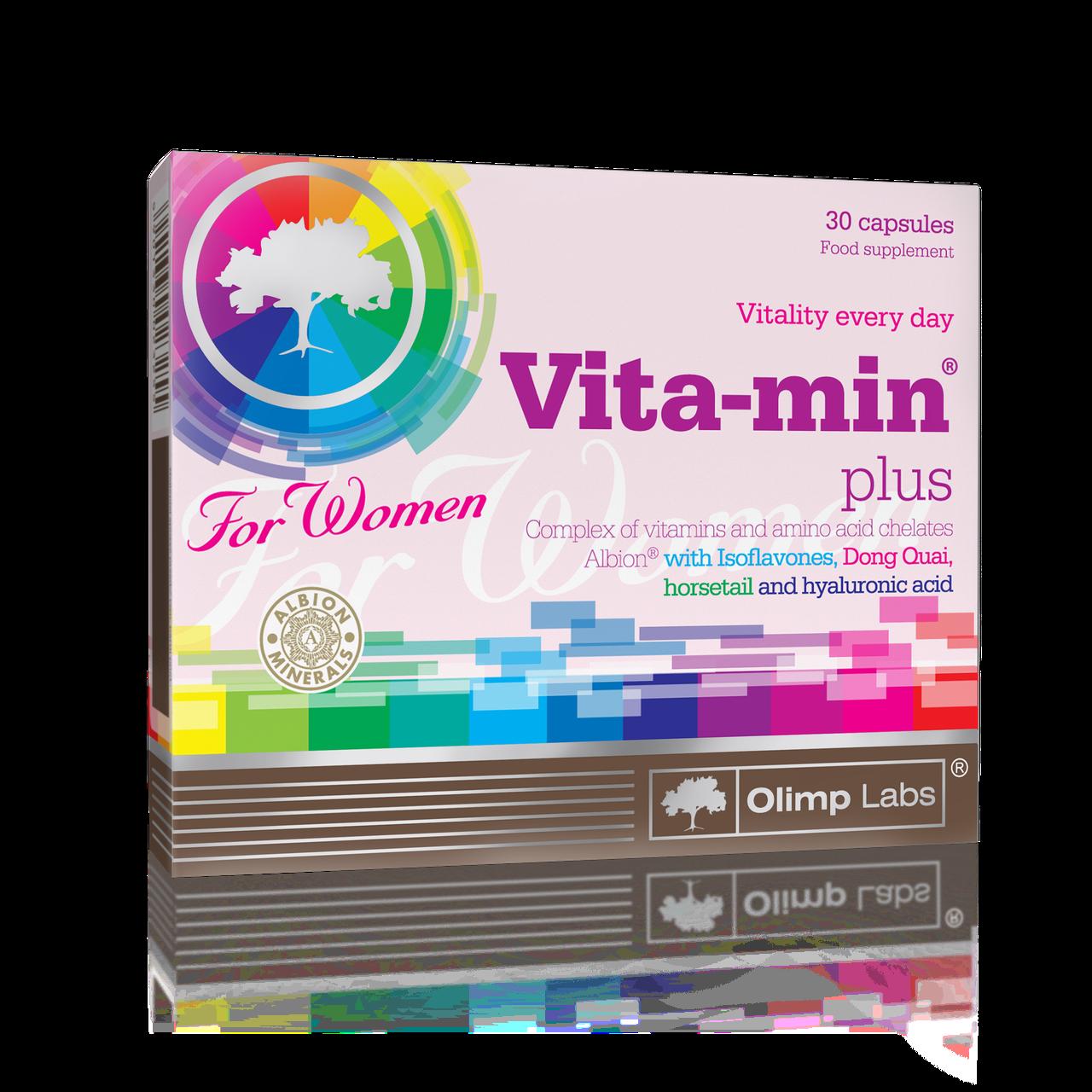 Olimp Vita-min plus for Women 30 caps