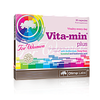 Olimp Vita-min plus for Women 30 caps, фото 1