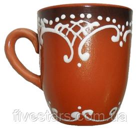 Чашка глиняная 300 мл.