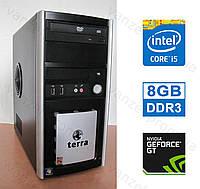 Terra PC - Intel Core i5-4460/ 8GB DDR3/ GeForce GT630 2GB/ 500GB HDD Системный блок, Компьютер, ПК