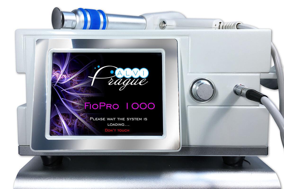 Аппарат для ударно-волновой терапии FioPro 1000 Физиотерапевтический аппарат УВТ