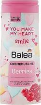Гель для душа с ароматом малины и граната Balea Berries Creme Dusche 300 мл.