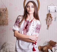 Вышиванка женская современная, фото 1