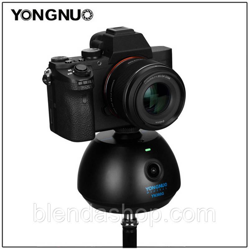 Обертовий моторизований штатив - головка з пультом управління YT-500 від Zifon для камер і телефонів