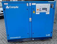 Компрессор винтовой CompAir L45-7,5: 7,84 м3/мин 7,5 бар 45 кВт