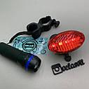 Комплект фара + мигалка для велосипеда №3, фото 3