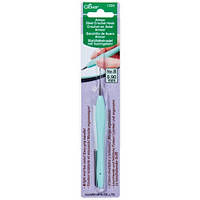 Стальной крючок с мягкой ручкой,Clover,размер 0,9