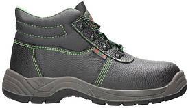 Ботинки рабочие ARDON Firsty S3, черный/зеленый, 36