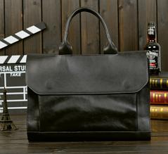 Сумка-портфель черная