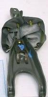 Вилка выключения сцепления ГАЗ 3102, 3302 с чехлом в сборе (пр-во Россия)