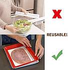 ОПТ Лоток для зберігання харчових продуктів у вакуумній упаковці Clever Tray Багаторазовий вакуумний вакуумний, фото 8