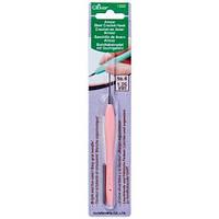 Стальной крючок с мягкой ручкой,Clover,размер 1,25