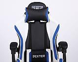 Геймерское кресло VR Racer Dexter Frenzy черный/синий (бесплатная адресная доставка), фото 6