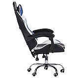 Геймерское кресло VR Racer Dexter Frenzy черный/синий (бесплатная адресная доставка), фото 4