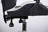 Геймерское кресло VR Racer Dexter Frenzy черный/синий (бесплатная адресная доставка), фото 9