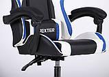Геймерское кресло VR Racer Dexter Frenzy черный/синий (бесплатная адресная доставка), фото 8