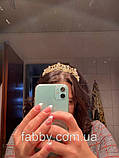 Emily не висока діадема срібло, корона полукруг, фото 8