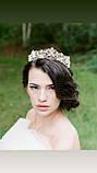 Emily не висока діадема срібло, корона полукруг, фото 2