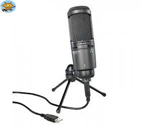 Микрофон студийный USB Audio-Technica AT2020USB +