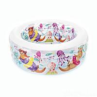 Детский надувной бассейн «Аквариум» Intex 58480