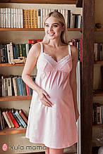 Ночнушка с кружевом для беременных и кормящих мам Monika new NW-2.2.4