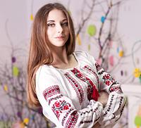 """Вышиванка для женщин современная """"Роза"""""""