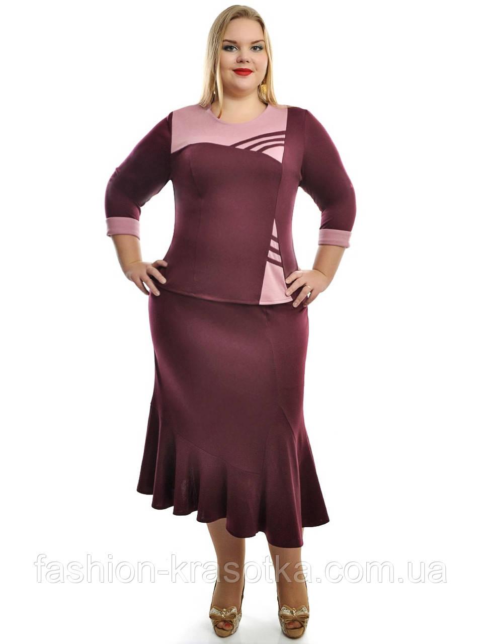 Женский костюм,модель 679,размеры 48-72.