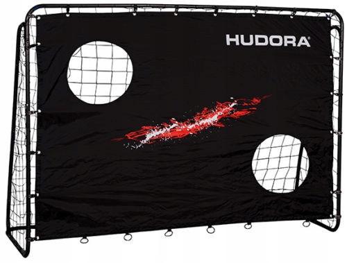 Футбольні ворота з екраном Hudora Trainer 213х152х76см