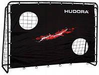 Футбольні ворота з екраном Hudora Trainer 213х152х76см, фото 1
