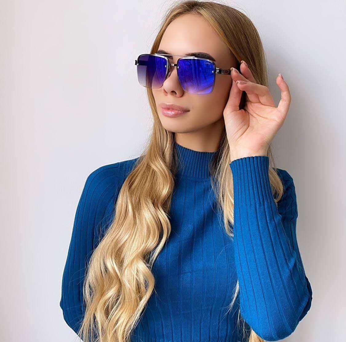 Жіночі сонцезахисні окуляри хамелионы
