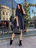 Вельветове плаття із завищеною талією 13-256, фото 6