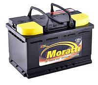 Автомобильный аккумулятор MORATTI 6ct-85a3