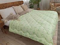 Одеяло Евро Бамбук Лелека, наполнитель бамбуковое волокно, плотность 390 г/м2