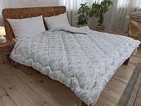 Одеяло двуспальное Био Пух Лелека, наполнитель био пух (искусственный пух), плотность 390 г/м2