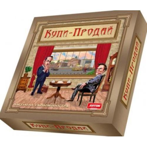 Гра настільна  економічна ТМ Artos PREMIUM Купи-Продай ( гофрована коробка)31*31*8см (у)