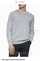 Свитер мужской серый Calvin Klein реглан мужской Calvin Klein