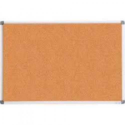Дошка коркова BUROMAX 0018 алюм. рамка 90*120см