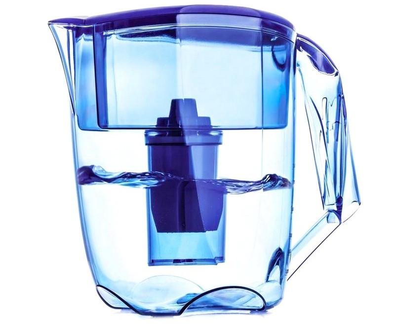 Фільтр-глечик Наша вода Luna, синій