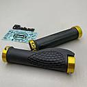 Ергономічні гріпси з золотими замками, фото 3