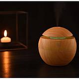Мини увлажнитель воздуха, ароматизатор и освежитель воздуха с подсветкой, фото 3
