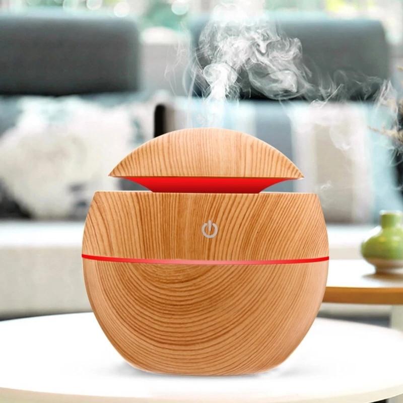 Мини увлажнитель воздуха, ароматизатор и освежитель воздуха с подсветкой